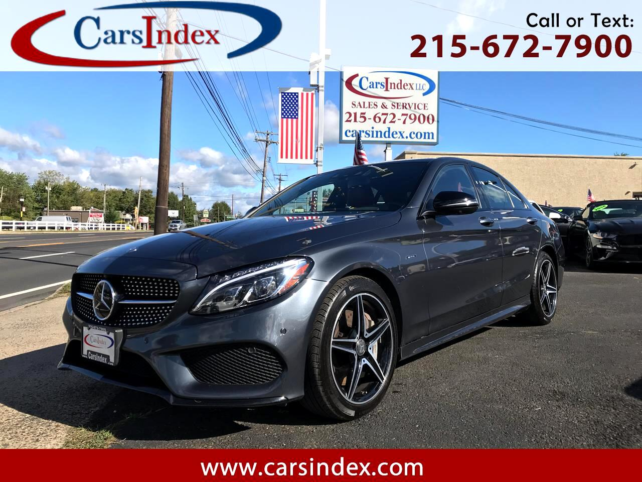 2016 Mercedes-Benz C-Class 4dr Sdn C 450 AMG 4MATIC