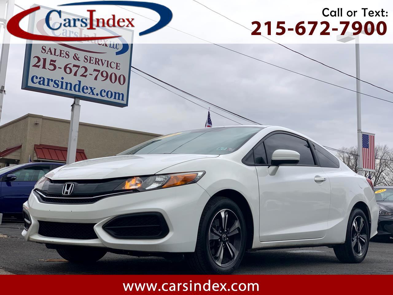 Honda Civic Coupe 2dr CVT EX 2014