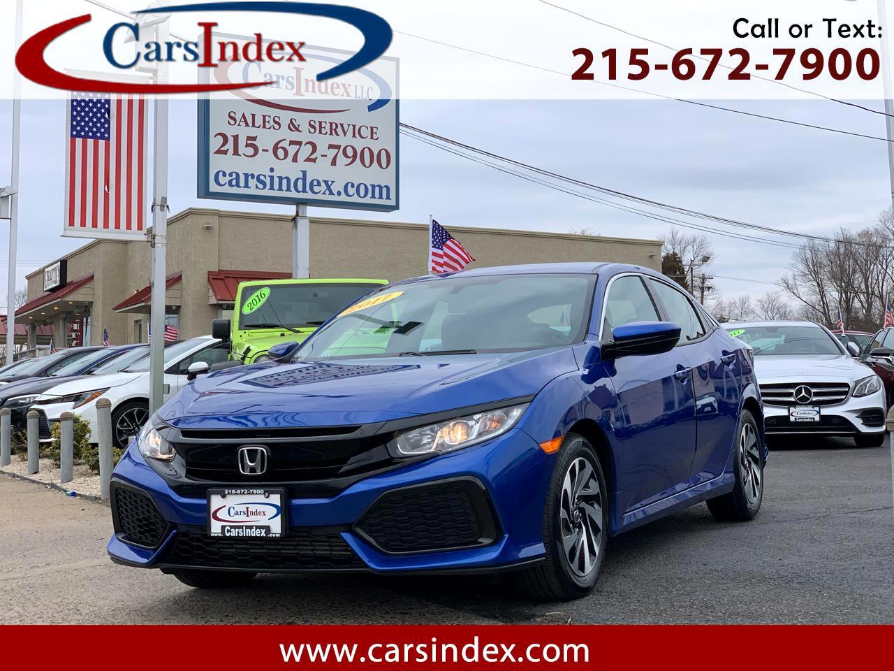 Honda Civic Hatchback LX CVT 2017