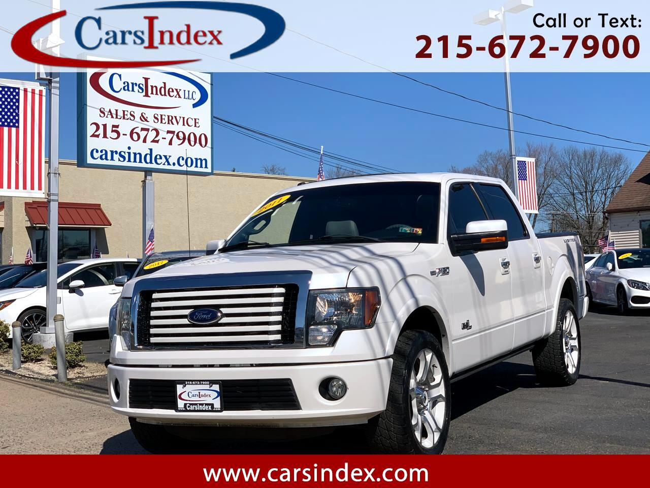 """Ford F-150 AWD SuperCrew 145"""" Lariat Limited 2011"""