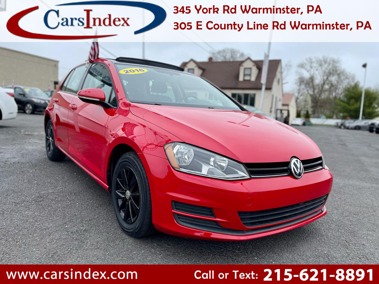 Used Volkswagen Golf Warminster Pa