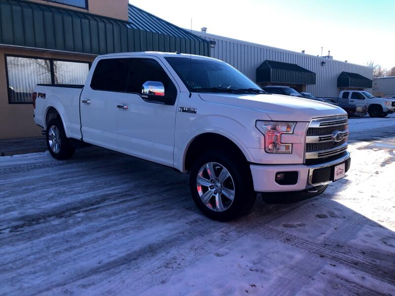 2015 Ford F-150 Platinum 4WD SuperCrew 6.5' Box