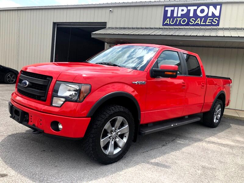 """Ford F-150 4WD SuperCrew 150"""" FX4 2013"""