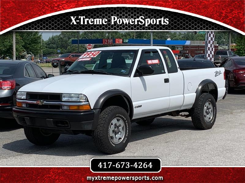 2003 Chevrolet S10 Pickup ZR-2 EXT CAB 4WD