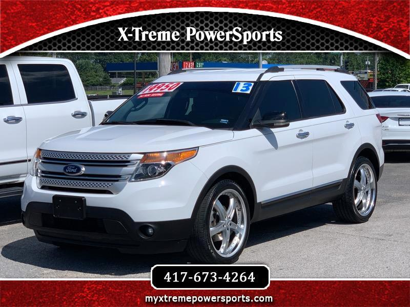 2013 Ford Explorer XLT 3RD ROW