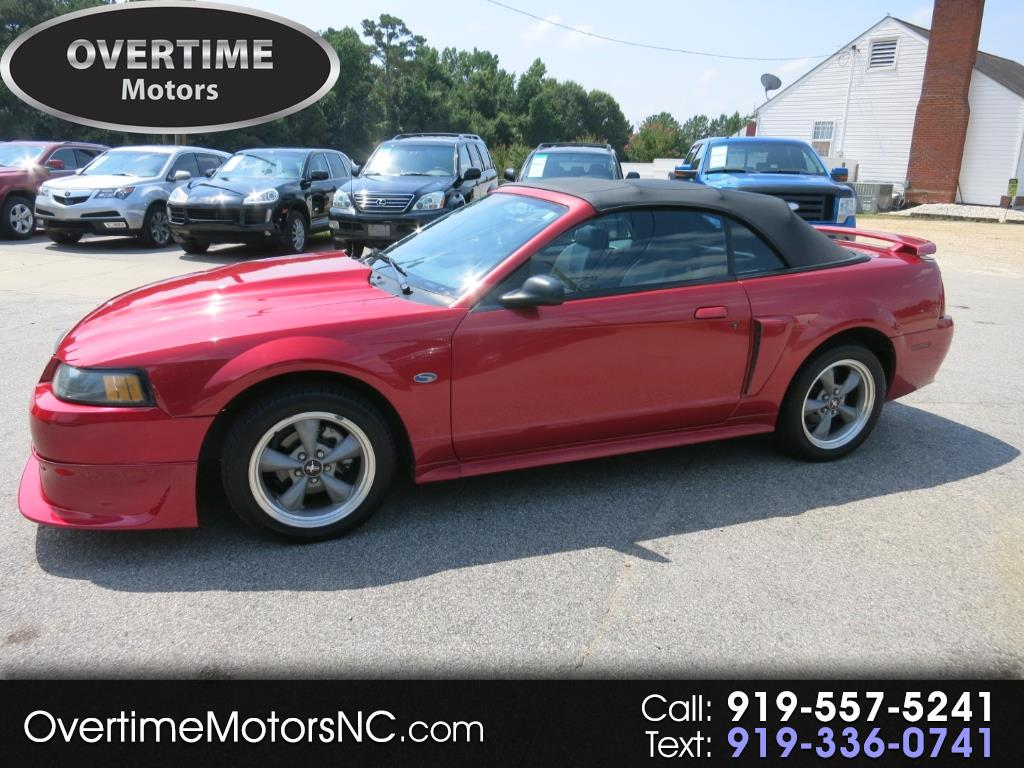 2001 Ford Mustang 2dr Conv GT Premium