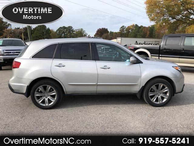2013 Acura MDX AWD 4dr Advance Pkg