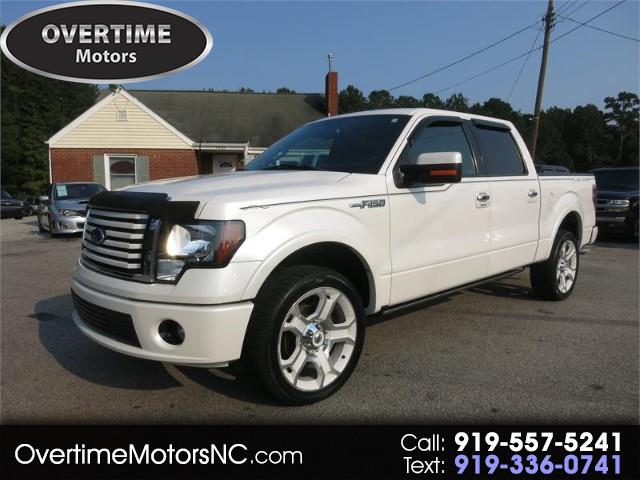 "2011 Ford F-150 AWD SuperCrew 145"" Lariat Limited"