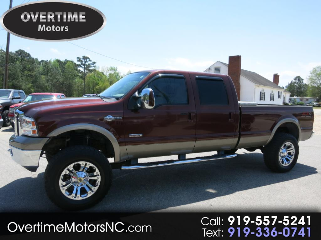 2006 Ford Super Duty F-350 SRW Crew Cab 156