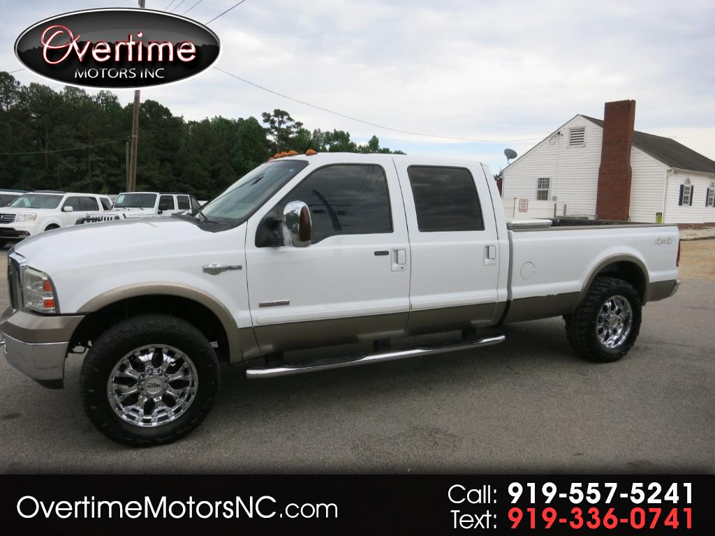 "2006 Ford Super Duty F-250 4WD Crew Cab 156"" King Ranch"