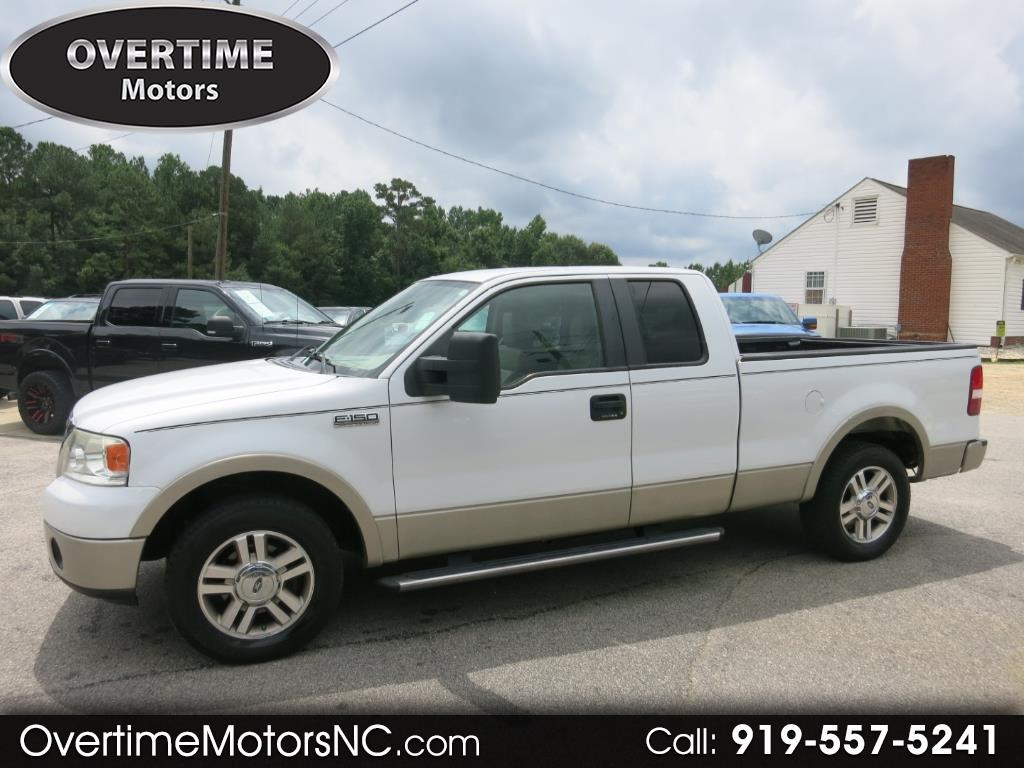 """2007 Ford F-150 2WD Supercab 145"""" Lariat"""
