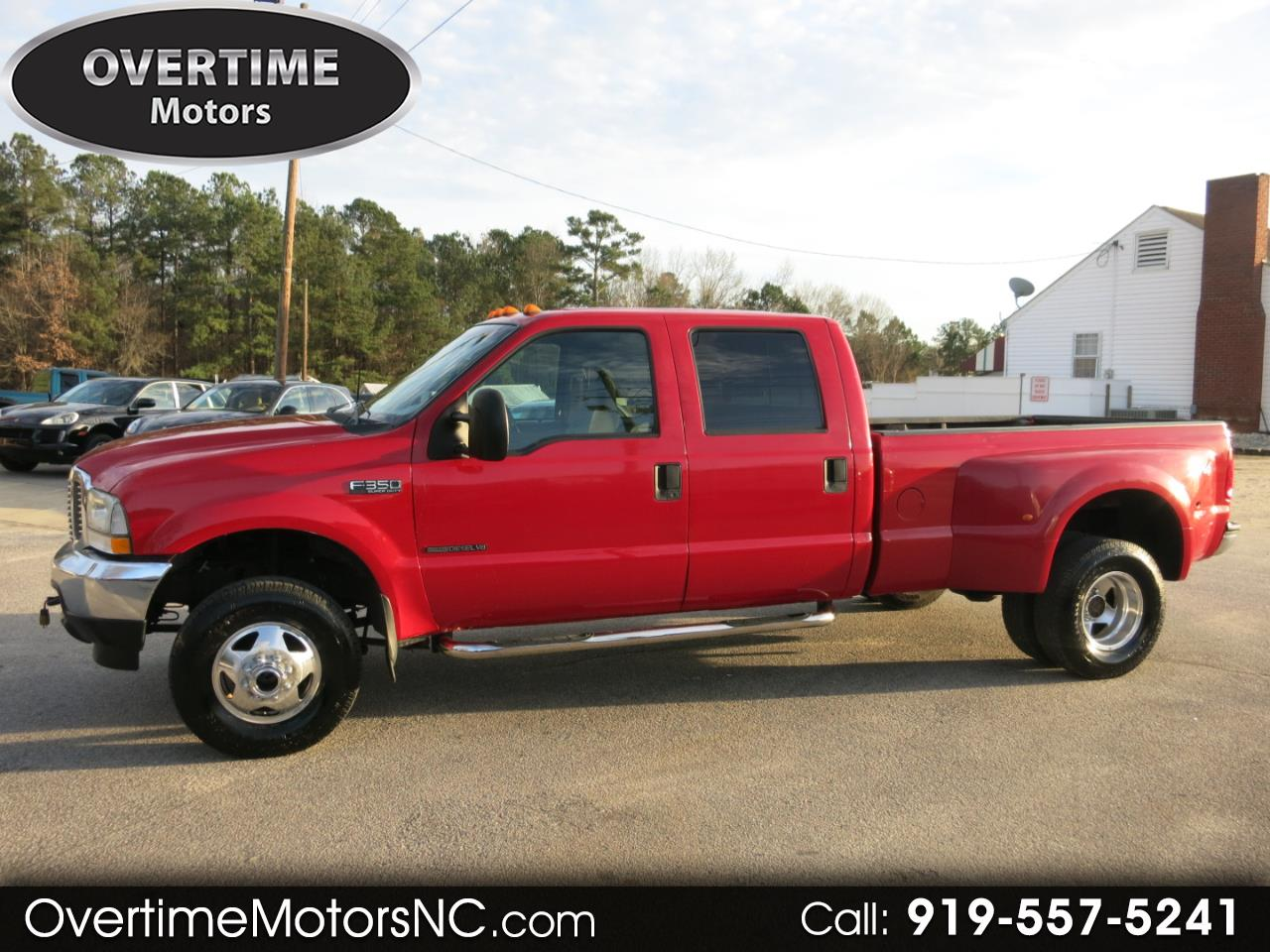 2001 Ford Super Duty F-350 DRW Crew Cab 156