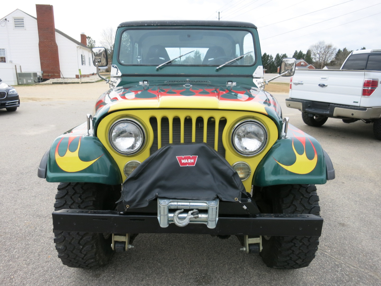 Used 1981 Jeep CJ 4WD 2dr Utility CJ7 for Sale in Raleigh ...