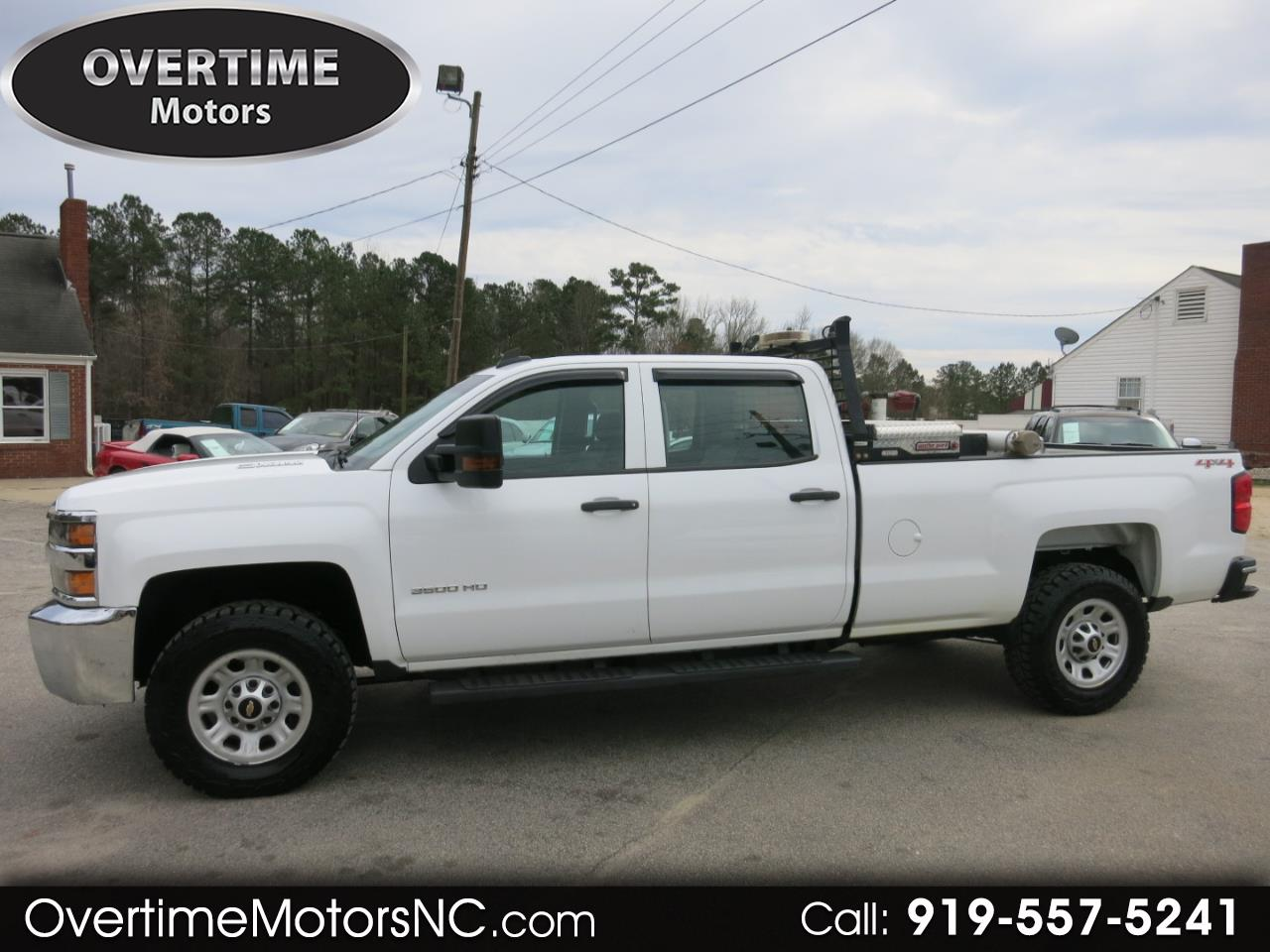 2015 Chevrolet Silverado 3500HD Built After Aug 14 4WD Crew Cab 167.7