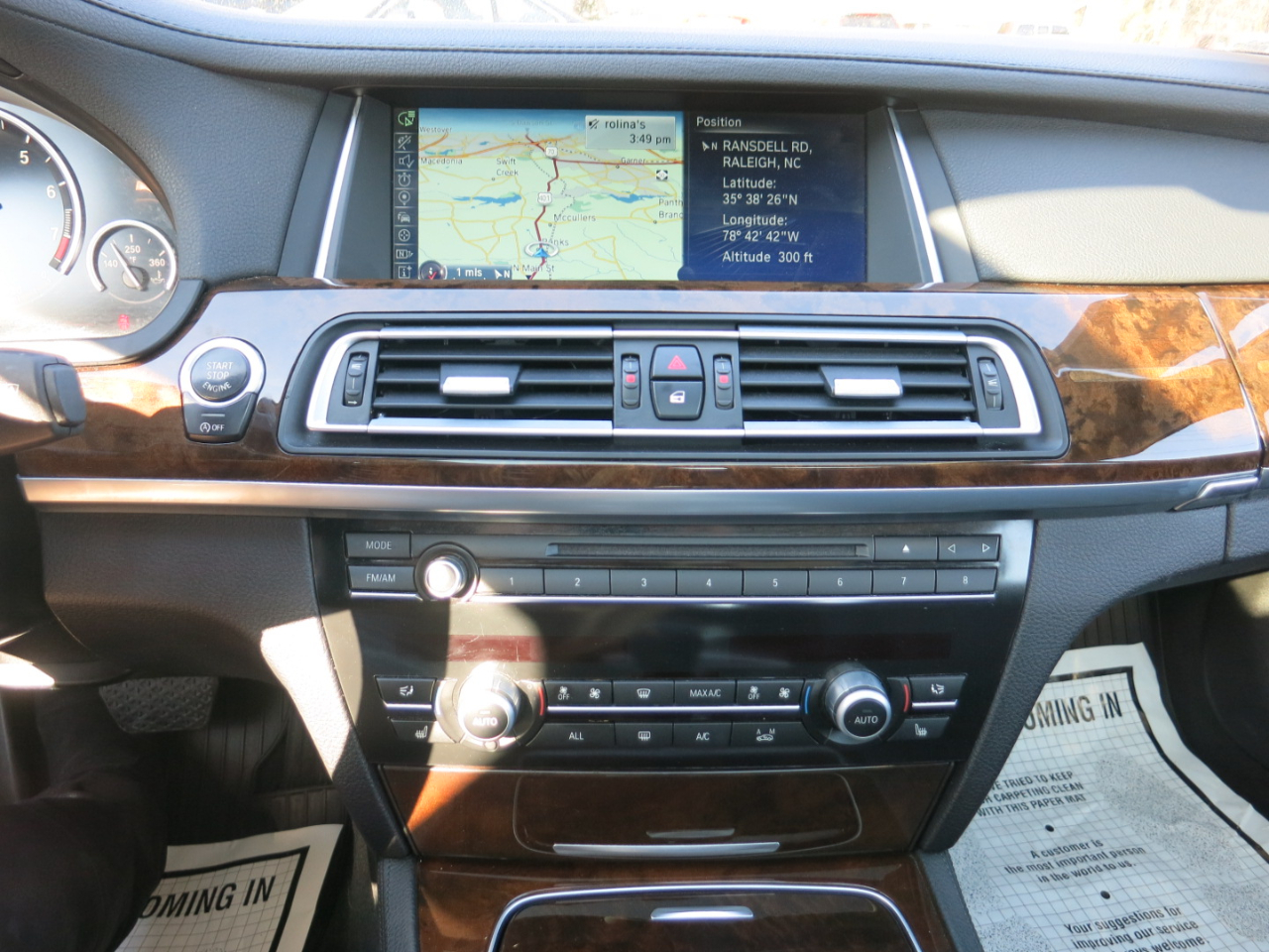 2013 BMW 7-Series 740Li xDrive