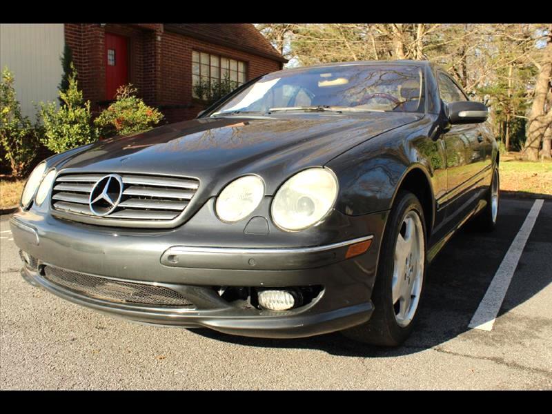 2002 Mercedes-Benz CL-Class 500