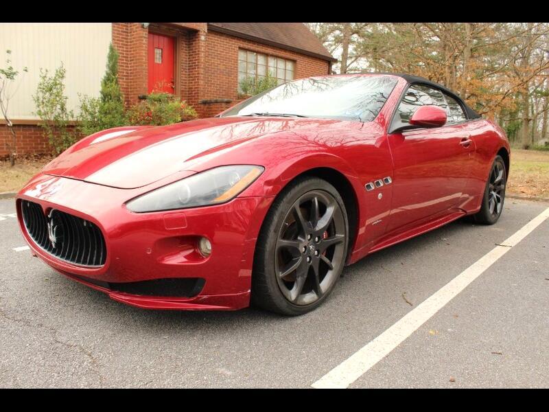 2013 Maserati GranTurismo Sport Convertible