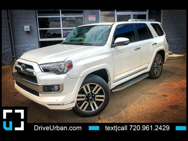 2017 Toyota 4Runner LIMITED 3RD ROW