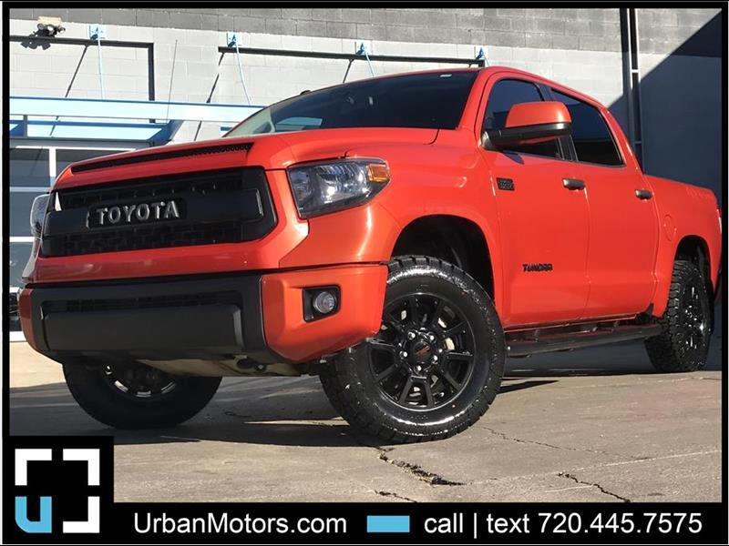 2015 Toyota Tundra TRD Pro Inferno Orange
