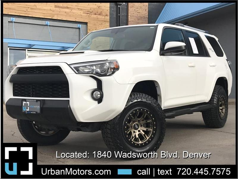 2018 Toyota 4Runner TRD Off-Road LIFTED