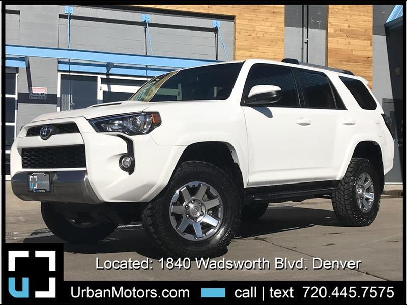2015 Toyota 4Runner Trail Edition w/ ToyTec Lift