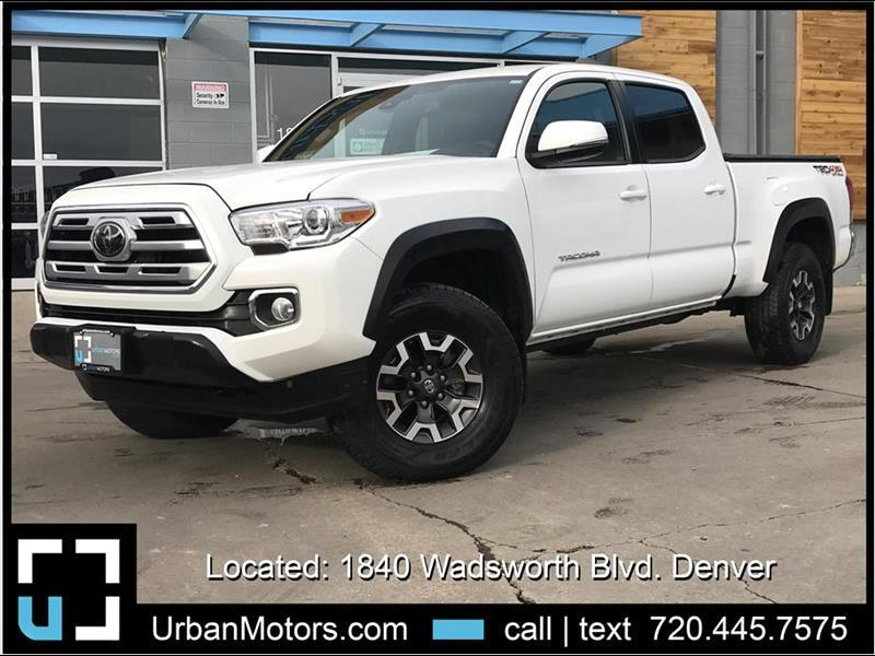 2018 Toyota Tacoma TRD Off-Road Long Bed