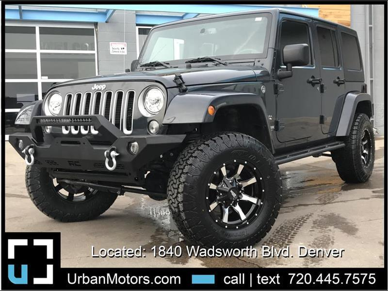 2018 Jeep Wrangler JK Sahara JK LIFTED + CUSTOMIZED