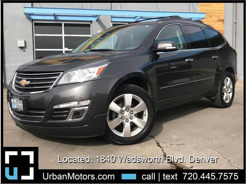 2013 Chevrolet Traverse LTZ AWD w/ 3rd Row