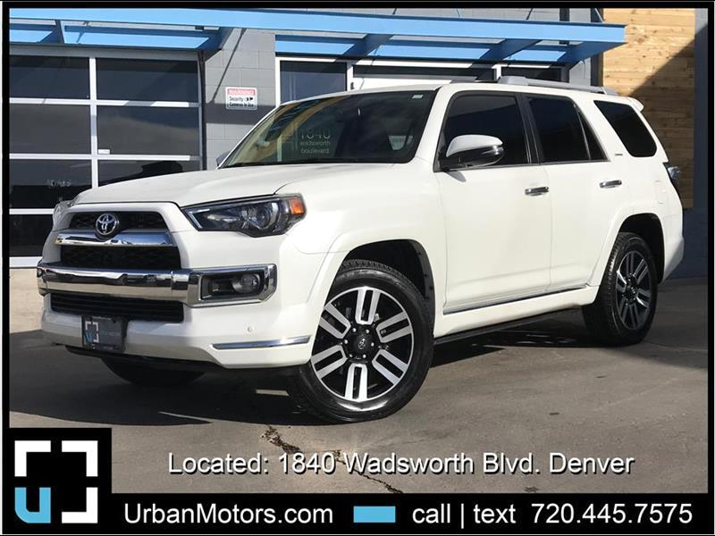 2015 Toyota 4Runner Limited 4WD w/ 3rd Row