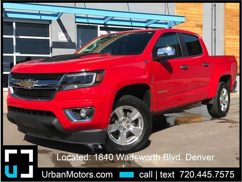 2017 Chevrolet Colorado LT Pickup 4D 5 ft