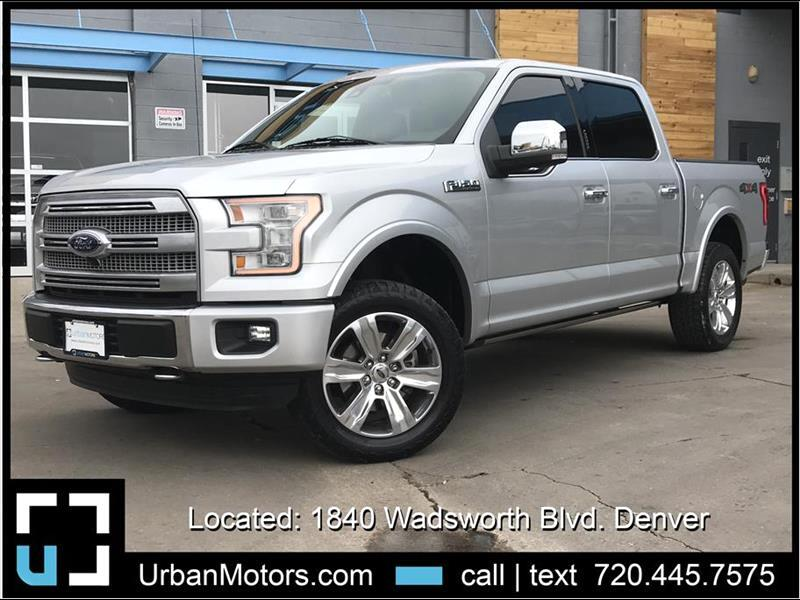 2016 Ford F-150 Platinum Pickup 4D 5 1/2 ft