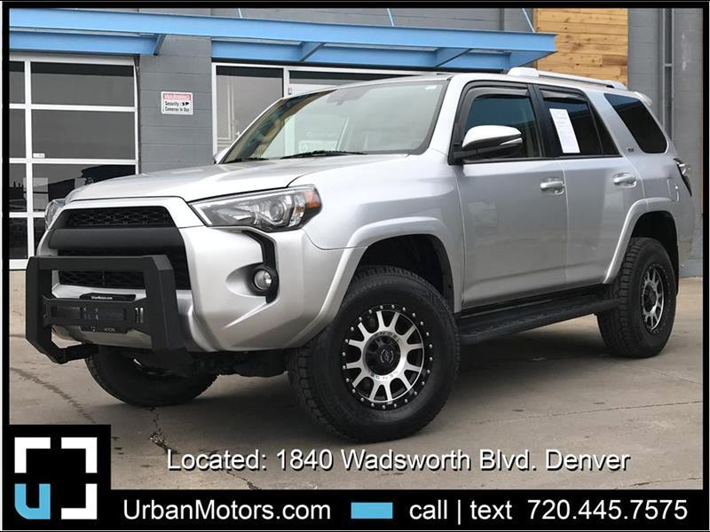 2016 Toyota 4Runner SR5 Premium LIFTED