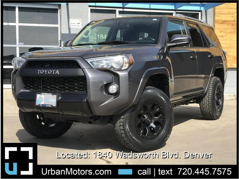 2017 Toyota 4Runner SR5 4WD LIFTED