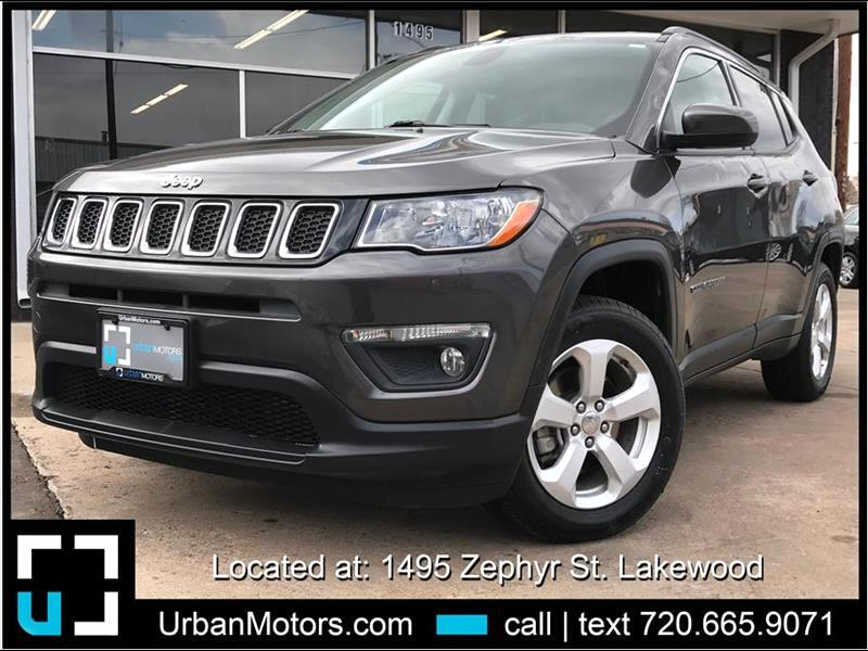 2017 Jeep Compass All New Latitude Sport Utility 4D