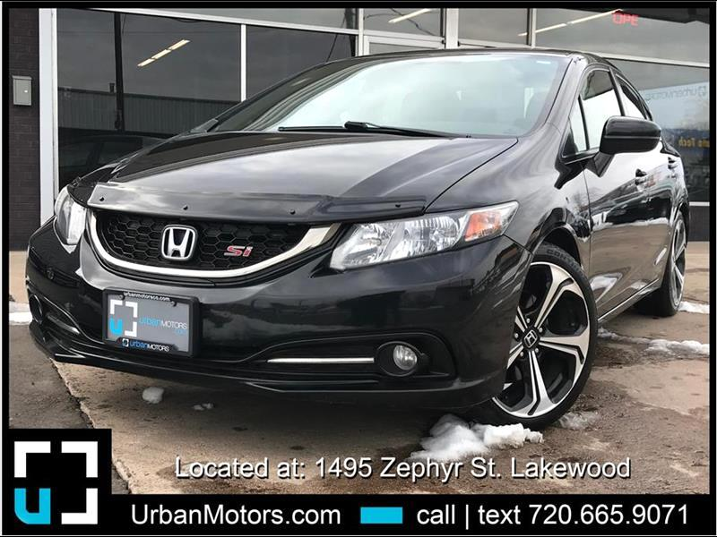2015 Honda Civic Si Sedan 4D
