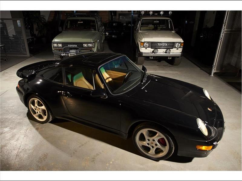 1996 Porsche 911 TURBO Previously Owned by Broncos Owner Pat Bowlen