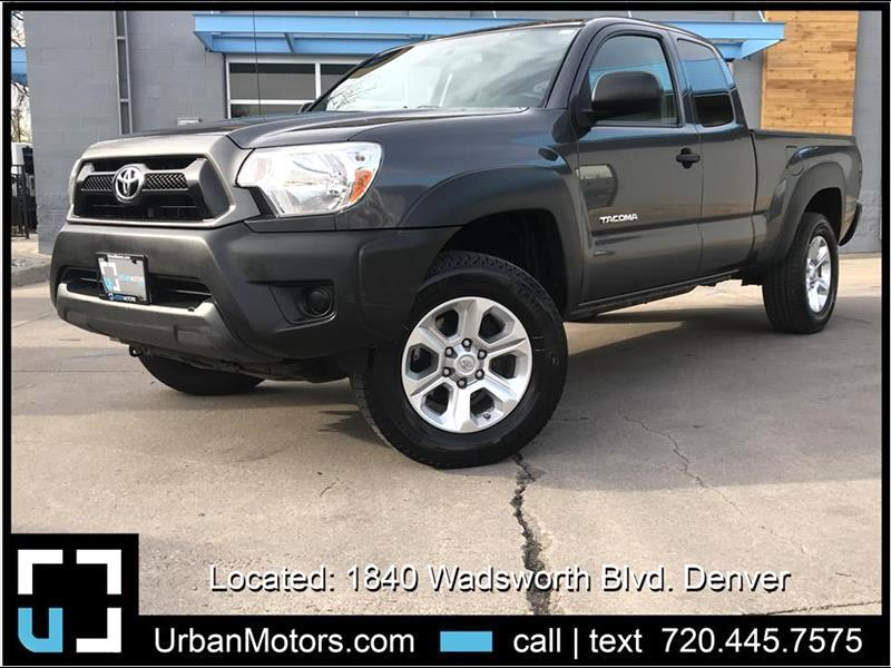 2014 Toyota Tacoma 6spd Manual - Access Cab Long Bed