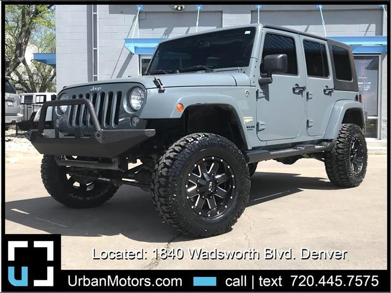 2015 Jeep Wrangler Sahara LIFTED & CUSTOMIZED