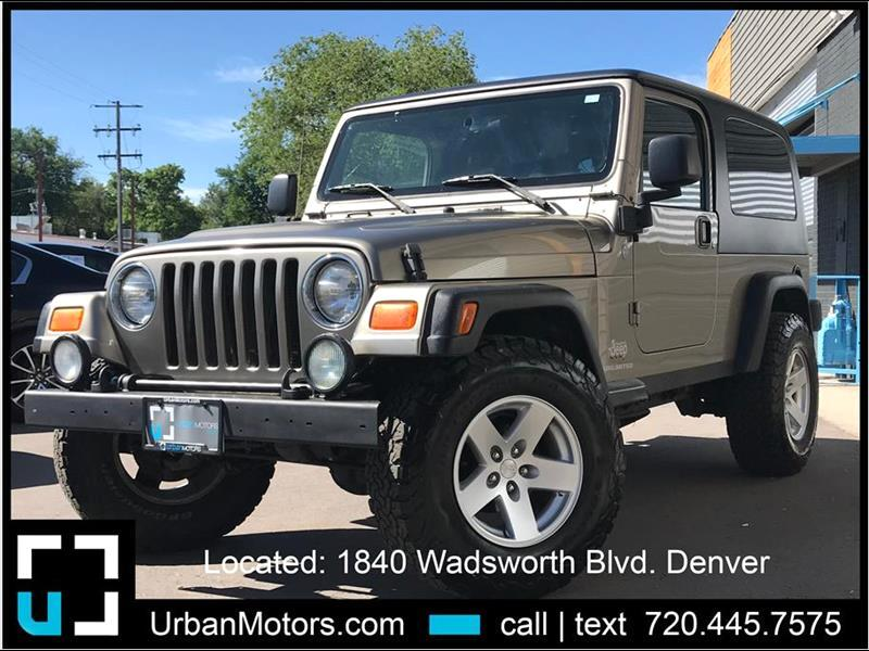 2004 Jeep Wrangler Unlimited - 1 Owner!