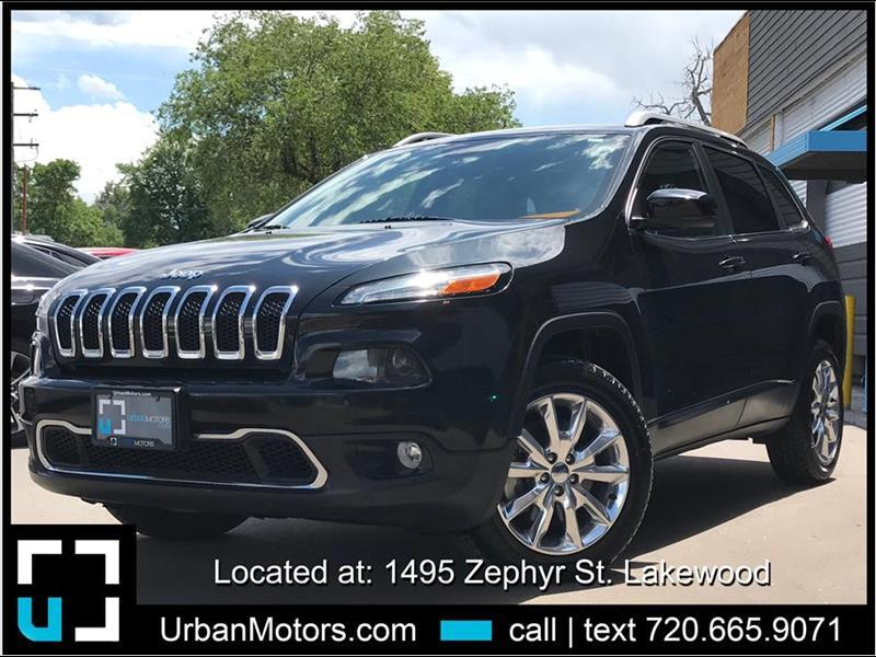 2015 Jeep Cherokee Limited Sport Utility 4D