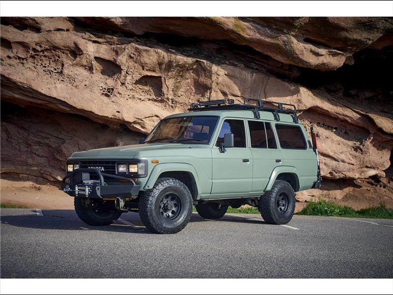 1989 Toyota Land Cruiser HJ61 - Japan Import Turbo Diesel Right Hand Drive