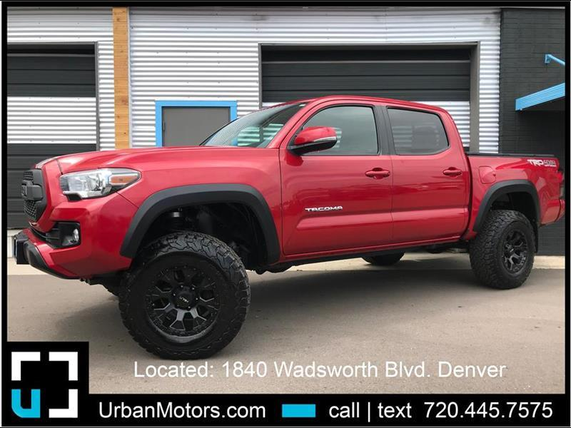 2016 Toyota Tacoma TRD Off Road - Pro Replica w/ Rough Country Lift