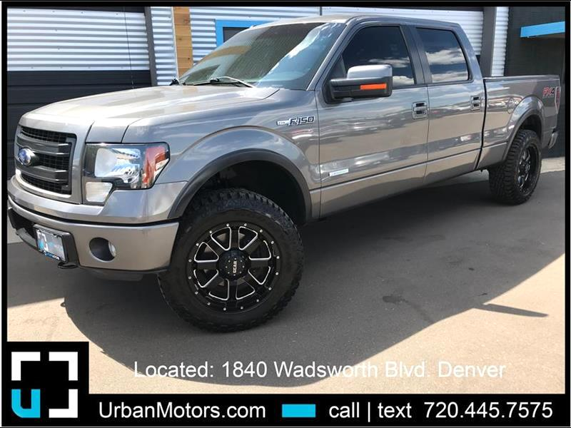 2013 Ford F-150 FX4 Long Bed - LIFTED & CUSTOMIZED