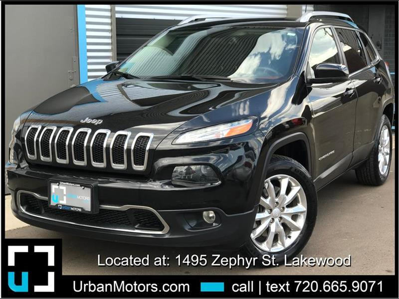 2017 Jeep Cherokee Limited Sport Utility 4D
