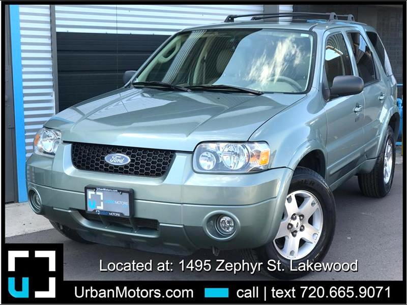 2006 Ford Escape Limited Sport Utility 4D