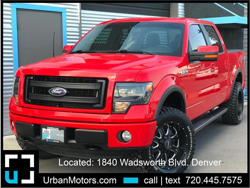 2014 Ford F-150 FX4 Loaded - LIFTED!