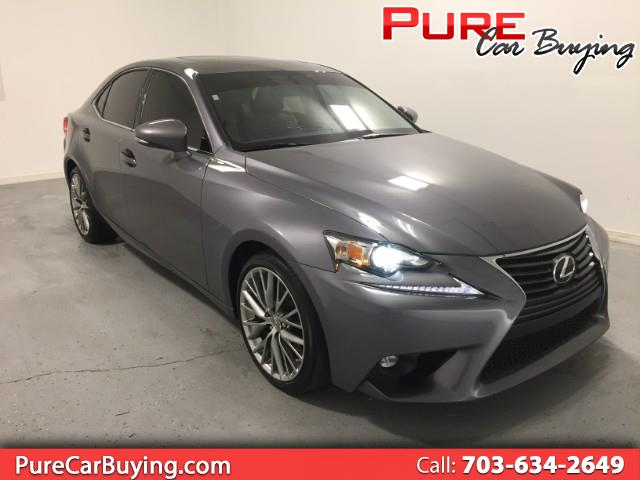 2015 Lexus IS 250 RWD **VERY LOW MILES // LOOKS AND DRIVES GREAT