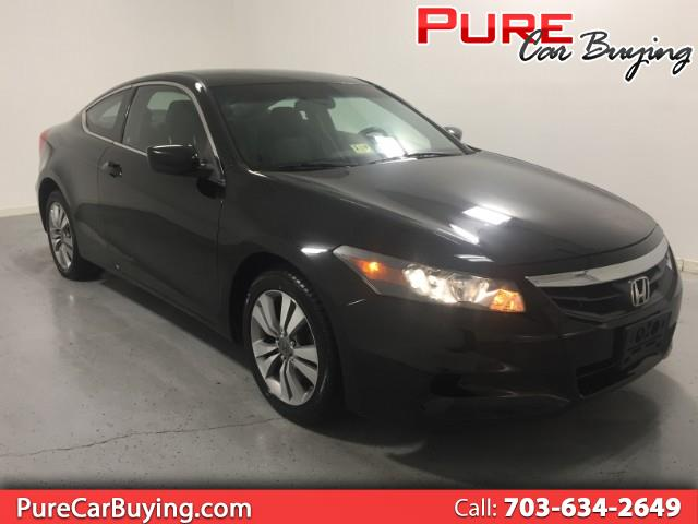 2012 Honda Accord LX-S Coupe **1 OWNER VEHICLE // FINACNING AVAILABL