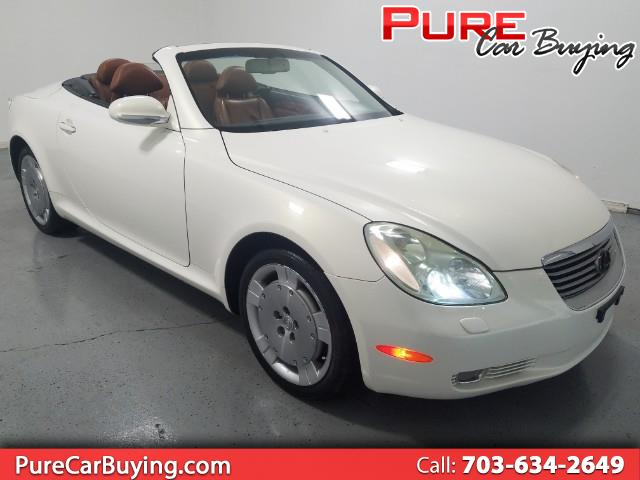 2003 Lexus SC 430 Convertible **CARFAX CERTIFIED//1 OWNER VEHICLE**