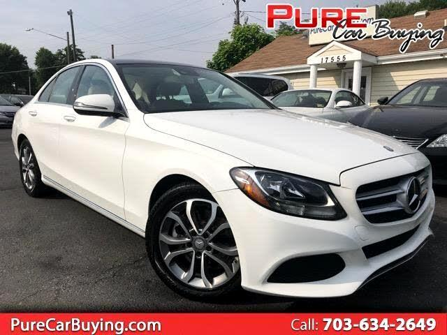 2016 Mercedes-Benz C-Class C300 Sedan **CarFax Certified//Excellent Price**